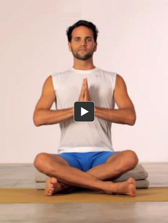 it may look simple but sukhasana when done with
