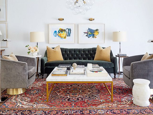 The Worst Decorating Mistakes You Can Make According To Experts Rugs In Living Room Mid Century Modern Living Room Living Room Decor Modern