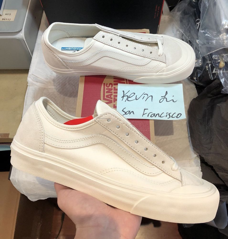 c8e1c48370ed68 Vans Style 36 Marshmallow size 11 Men Cream Racing Red Vintage White Old  Skool  fashion  clothing  shoes  accessories  mensshoes  athleticshoes  ad  (ebay ...
