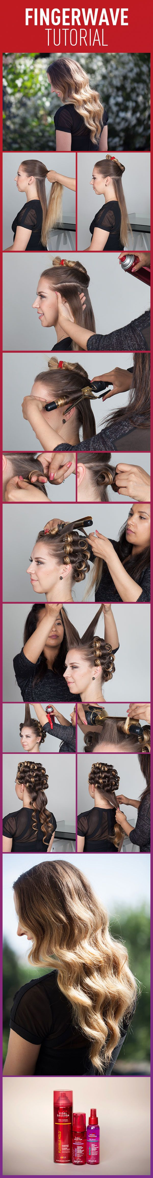 How to finger wave get inspired by our tutorial and enter to win