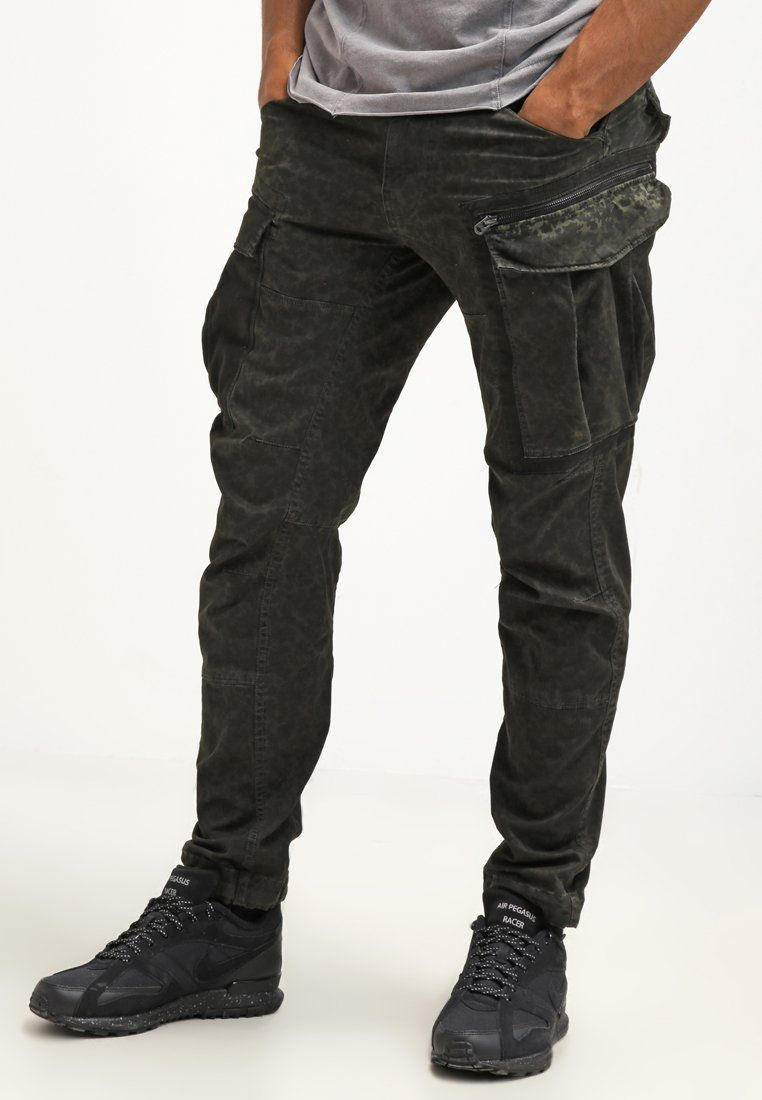 G-Star ROVIC ZIP 3D TAPERED - Pantalón cargo - asfalt