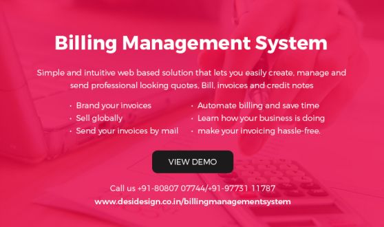 Billing \ Inventory management software Suitable For Manufacturer - sending invoices