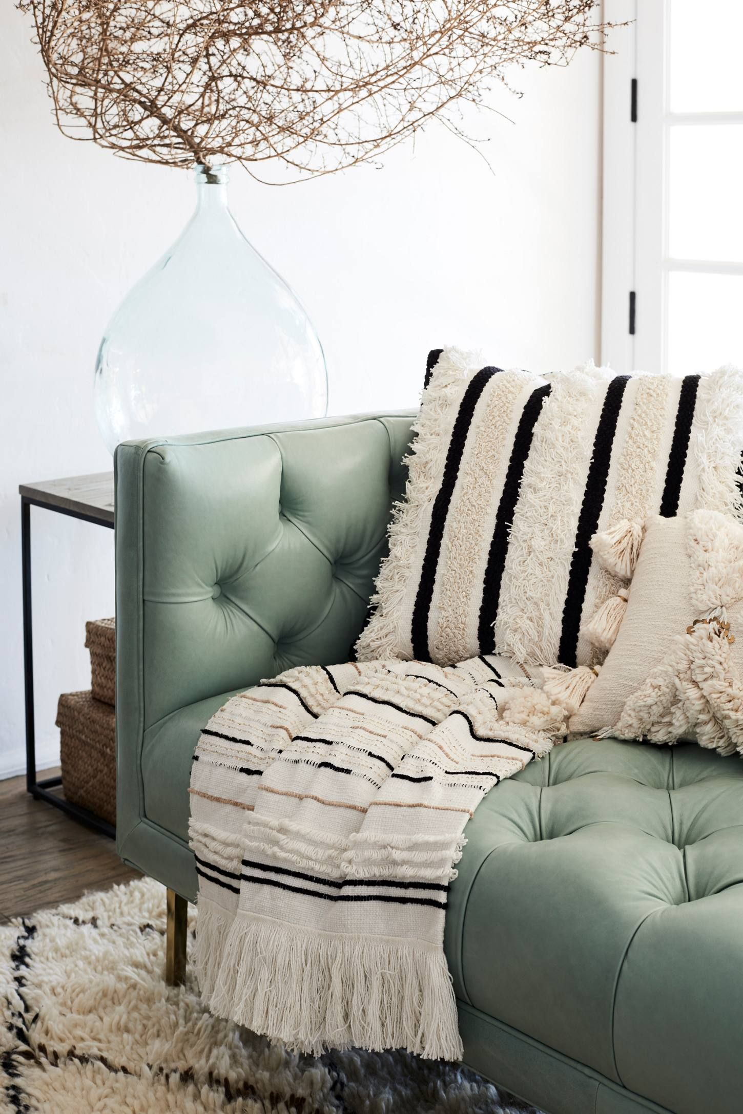 anthropologie living room. Textured Indira Pillow  Anthropologie I m Home Pinterest