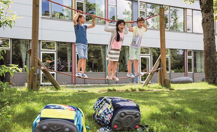 Fit in die Schule: Tipps zur Rückenschonung