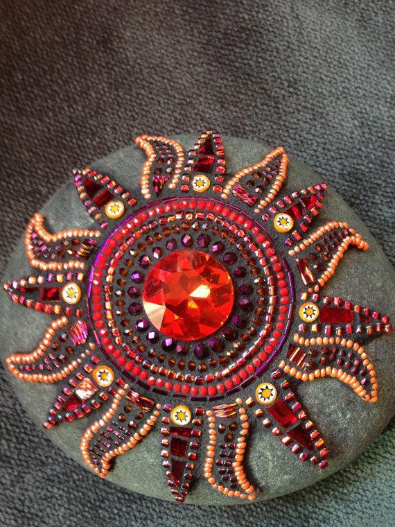 Mosaic Sun by Moonjewelsandmosaics on Etsy