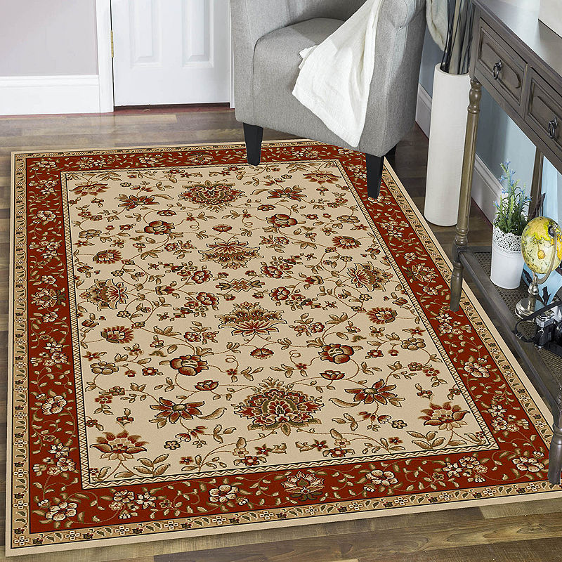 Terry Traditional Oriental Area Rug