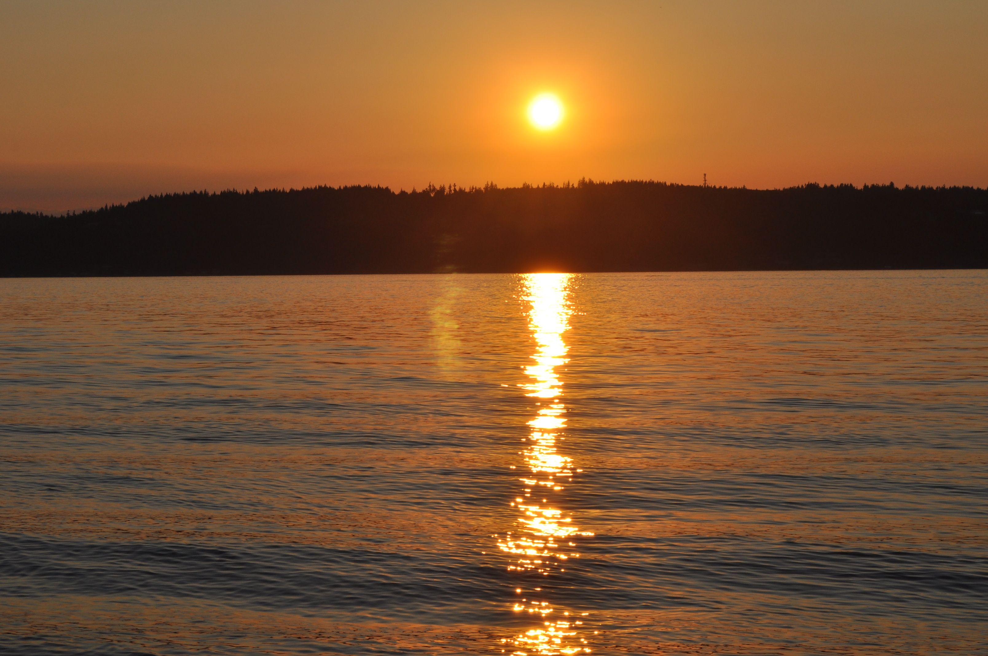 Reflection, Ballard Beach, Seattle, WA | My Photography Hobby ...