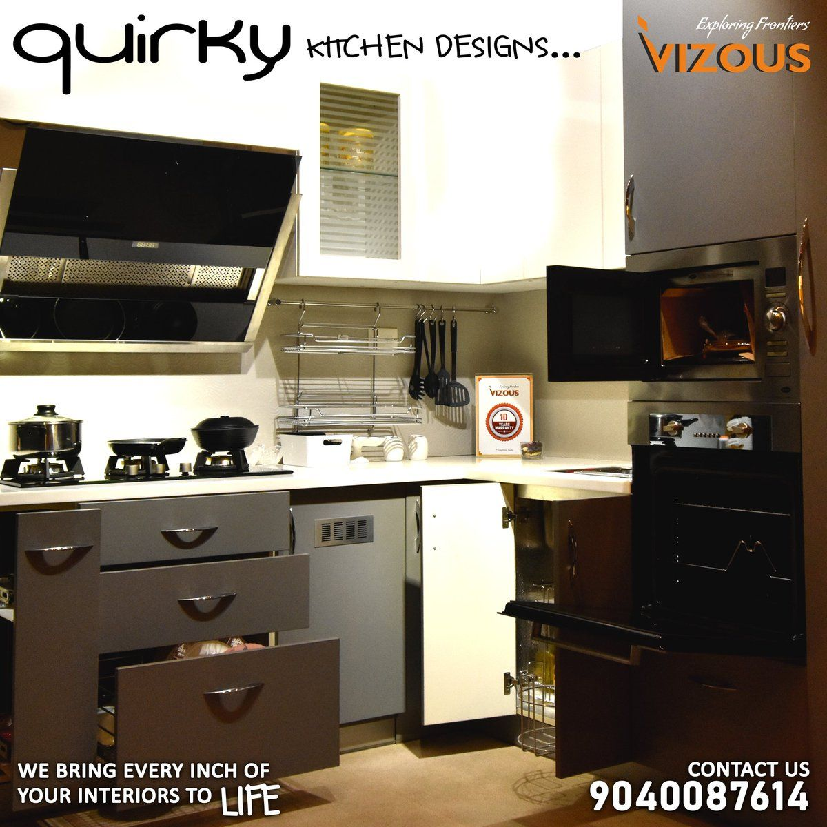 Don't you want to try a new model for your kitchen🤔? Find the best collection of modular kitchen only at Vizous Interio Private Limited, #Bhubaneswar😄.  Visit us for more: IRC Village, Nayapali, Bhubaneswar. Contact Now: 📞9040087614  #modularkitchen #homedecor #luxurydesign #homedecor #kitchen #kitchendecor #kitchendesign #architechture #homedesign #interiordesign #interior #interior #vizous