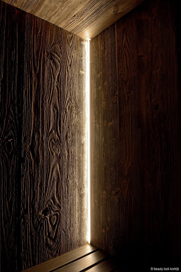 Binnensauna op maat Glow Badkamer