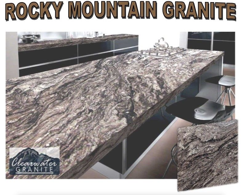 Rocky Mountain Granite Countertops Are Bold Beautiful And