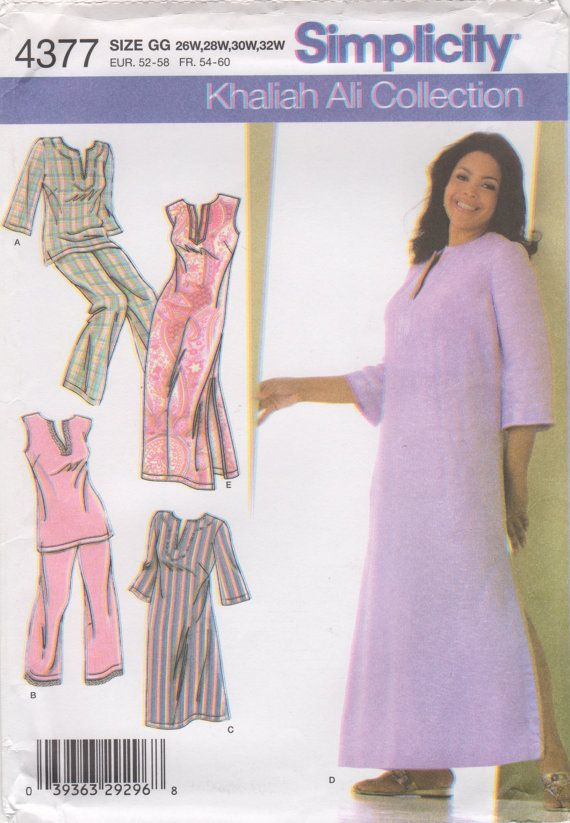 Simplicity 4377 Beautiful Womens Nightgown In Two Lengths And