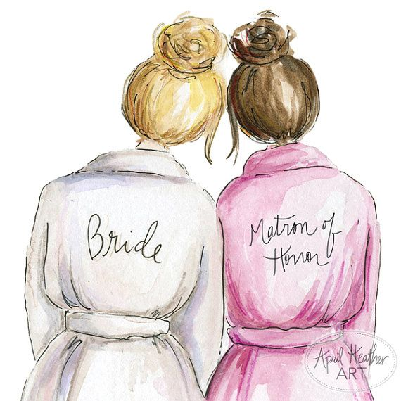 Matron Of Honor PDF, Blonde Bride Brunette Matron Of Honor