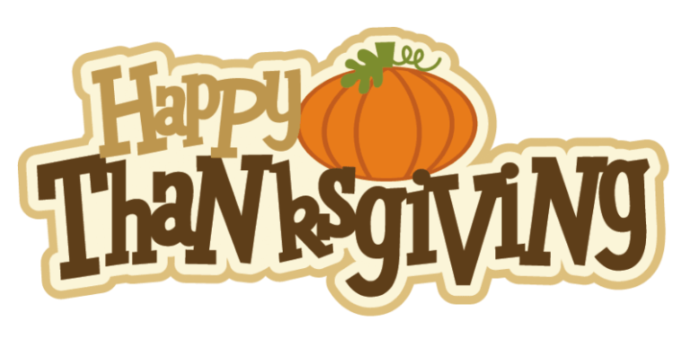 Free 'Thanksgiving Clipart' Images, Black and White (With