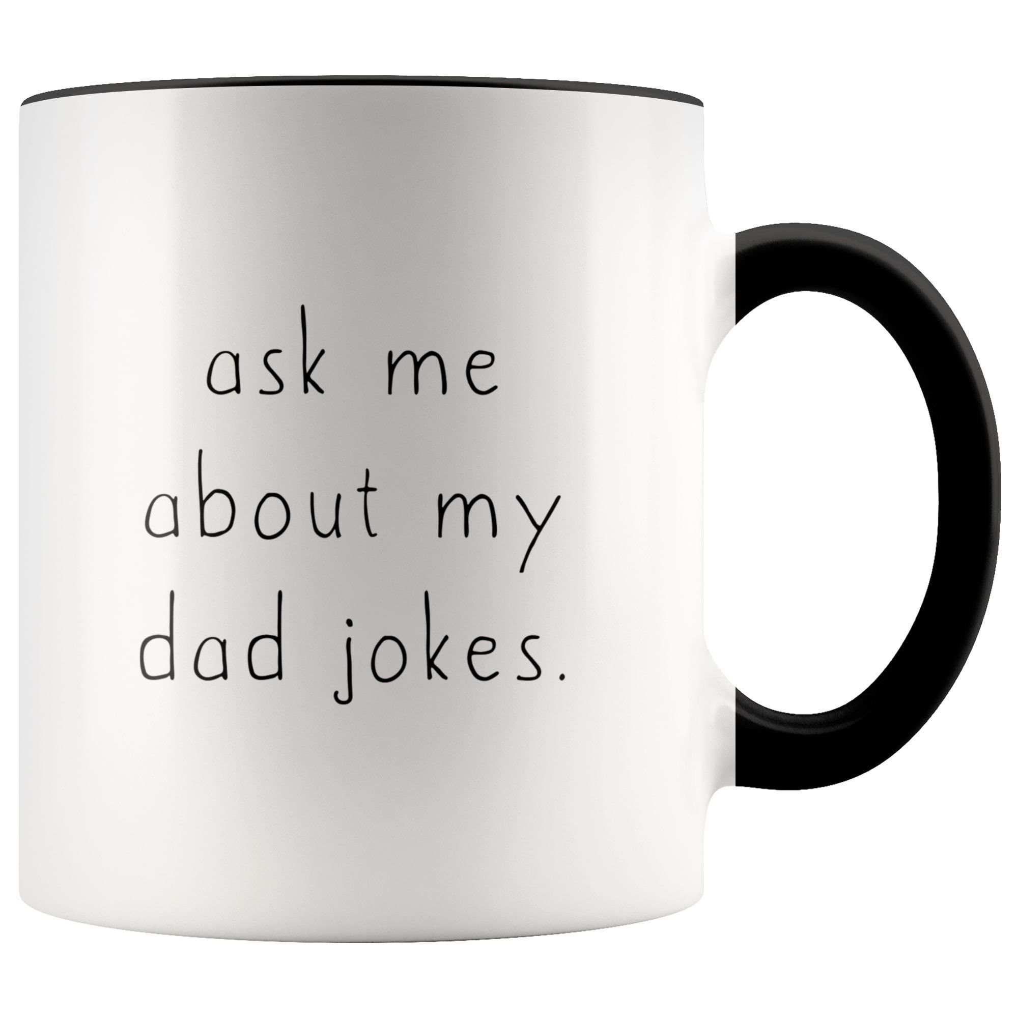 Dad to be gift ask about my dad jokes new dad gift etsy