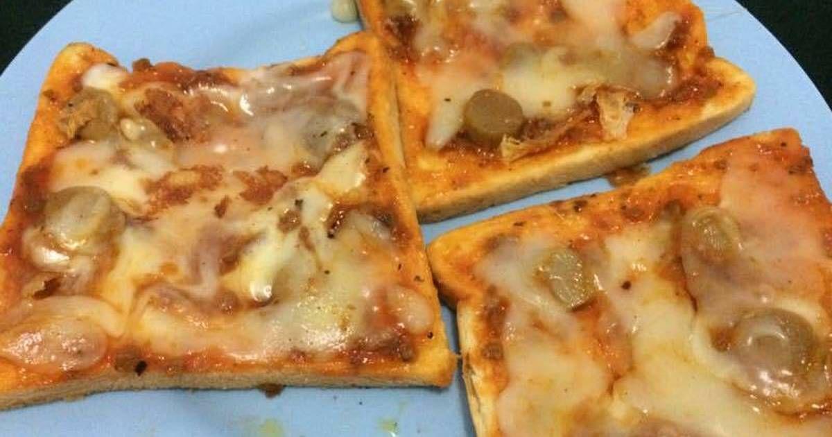Resep Pizza Roti Tawar Anti Gagal Oleh Sunna Is Yen Resep Makanan Resep Sarapan Cepat