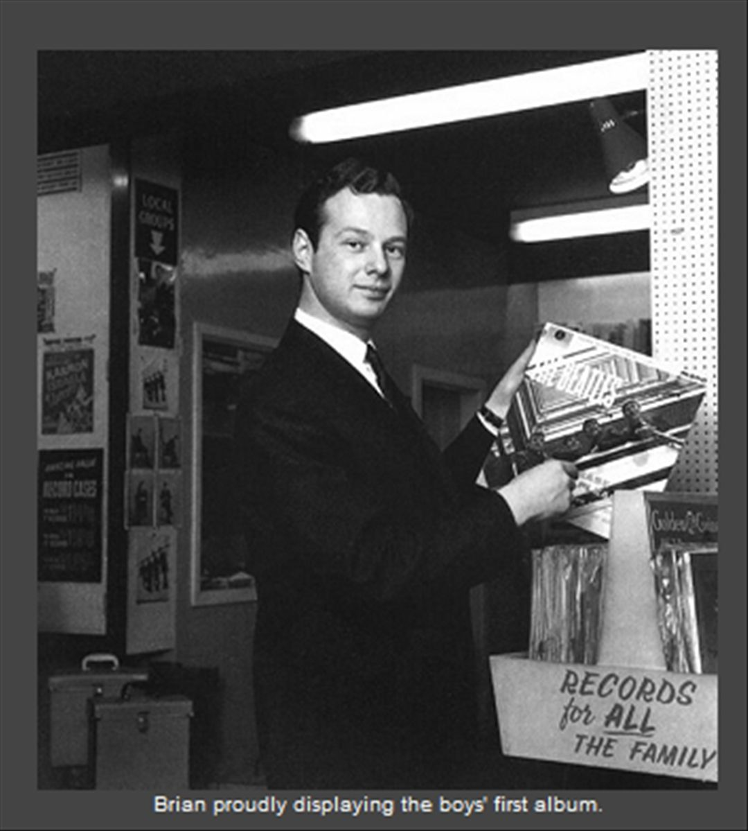Brian Samuel Epstein (19 September 1934 – 27 August 1967) was an English music entrepreneur, best known for managing the Beatles.his death has never been clarified