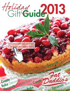 2013 Holiday Gift Guide www.fatdaddios.com