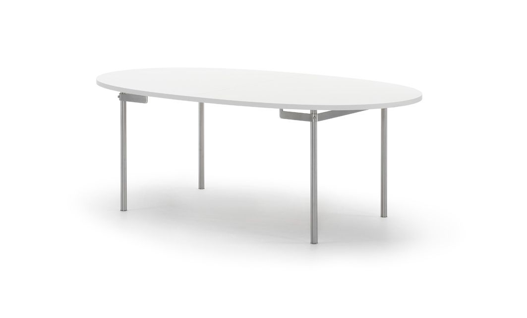 The Elliptical Tabletop Is Available In Either Laminate Or Solid