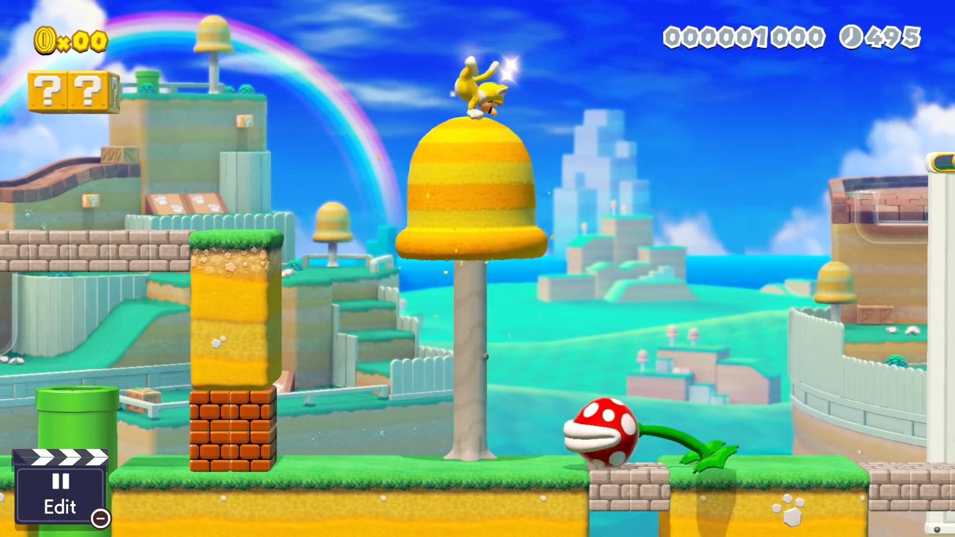 You can now create levels in the Super Mario 3D World style