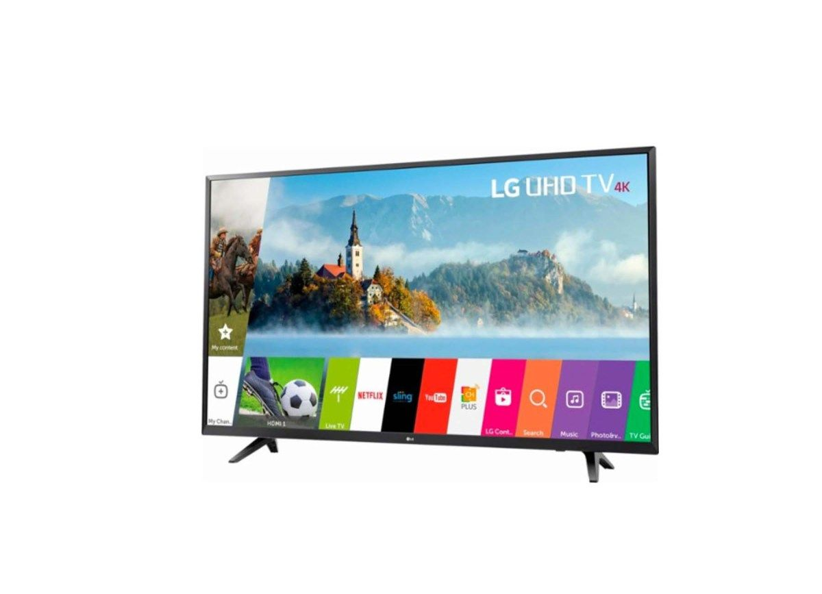 LG 43 Class LED 2160p Smart 4K Ultra HD TV for $279.99 at Best Buy ...