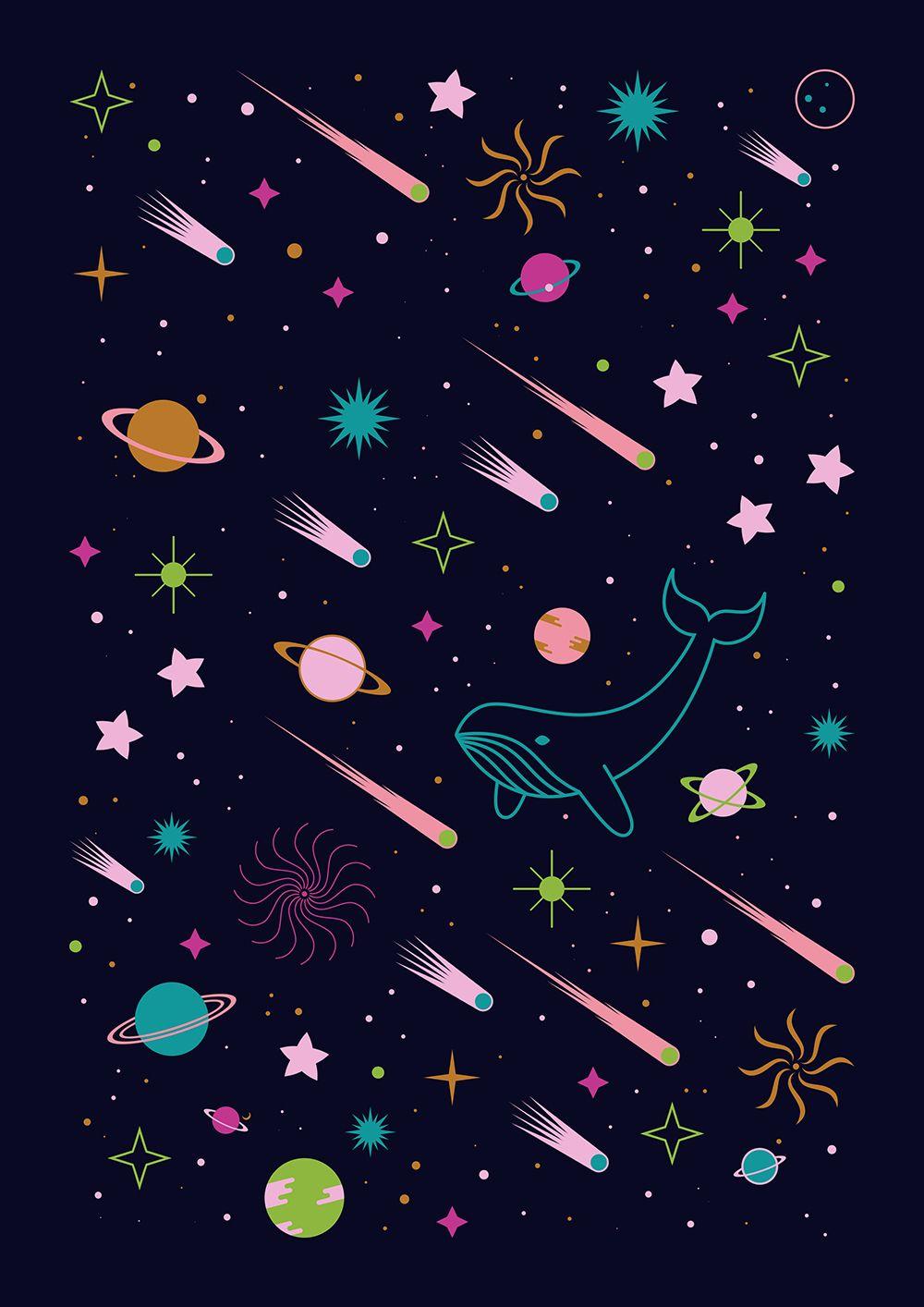 Galaxy Pattern Cool Design Inspiration