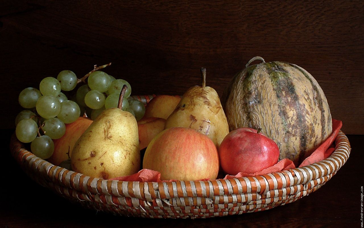 Souvent Nature morte corbeille fruits 2 | #Natures#Mortes# | Pinterest  RZ99