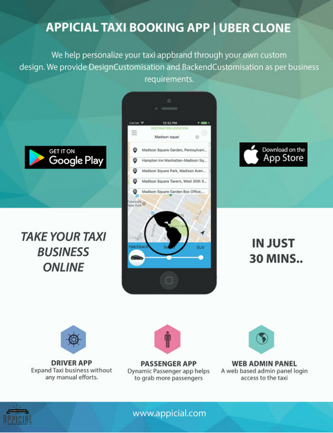 Most advanced Taxi booking App is here, Visit http