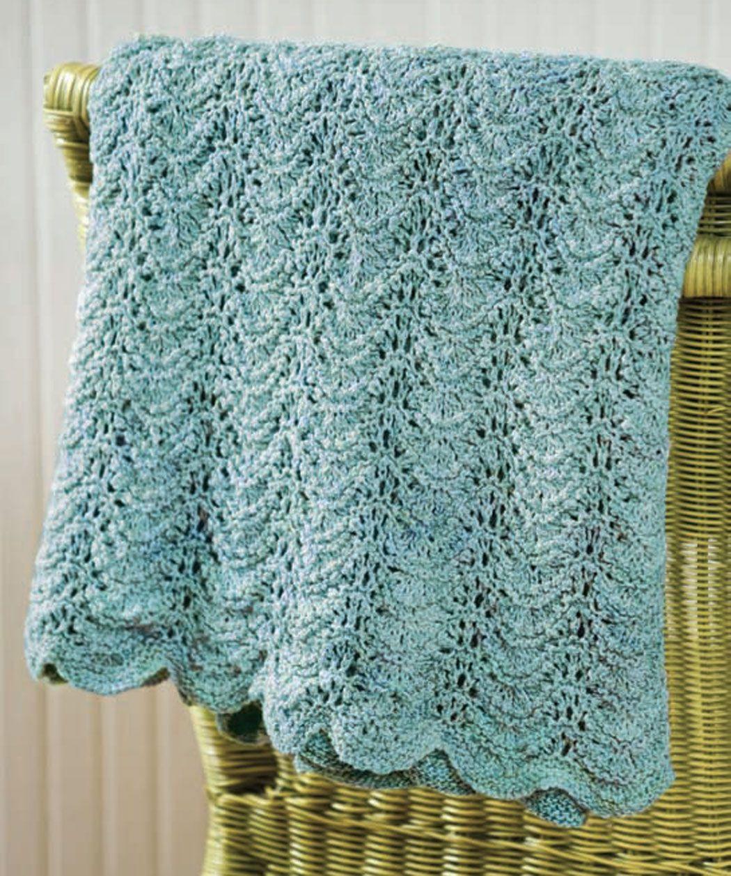 Knit Seaside Waves - free pattern | Knitting | Pinterest | Free ...
