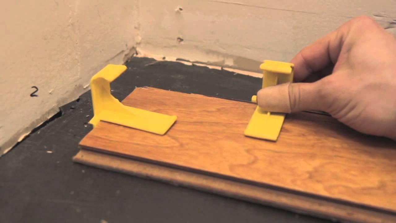 T Floor Spacer Demonstration Youtube Vinyl Plank Flooring Vinyl Plank Diy Flooring