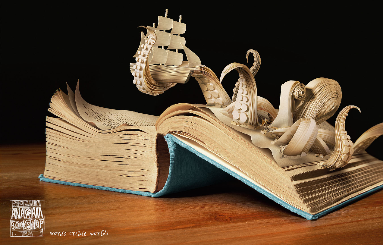 Creative Art of Books - Bookshop