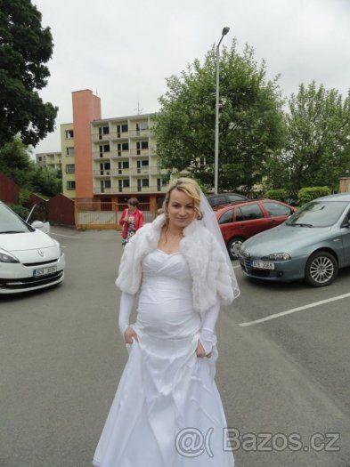 c2e1db781d8 Svatební šaty pro těhotné - 1