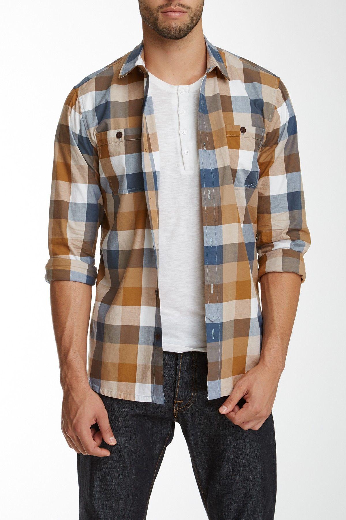 Flannel shirt knot  OuNeill  Simeon Plaid Shirt