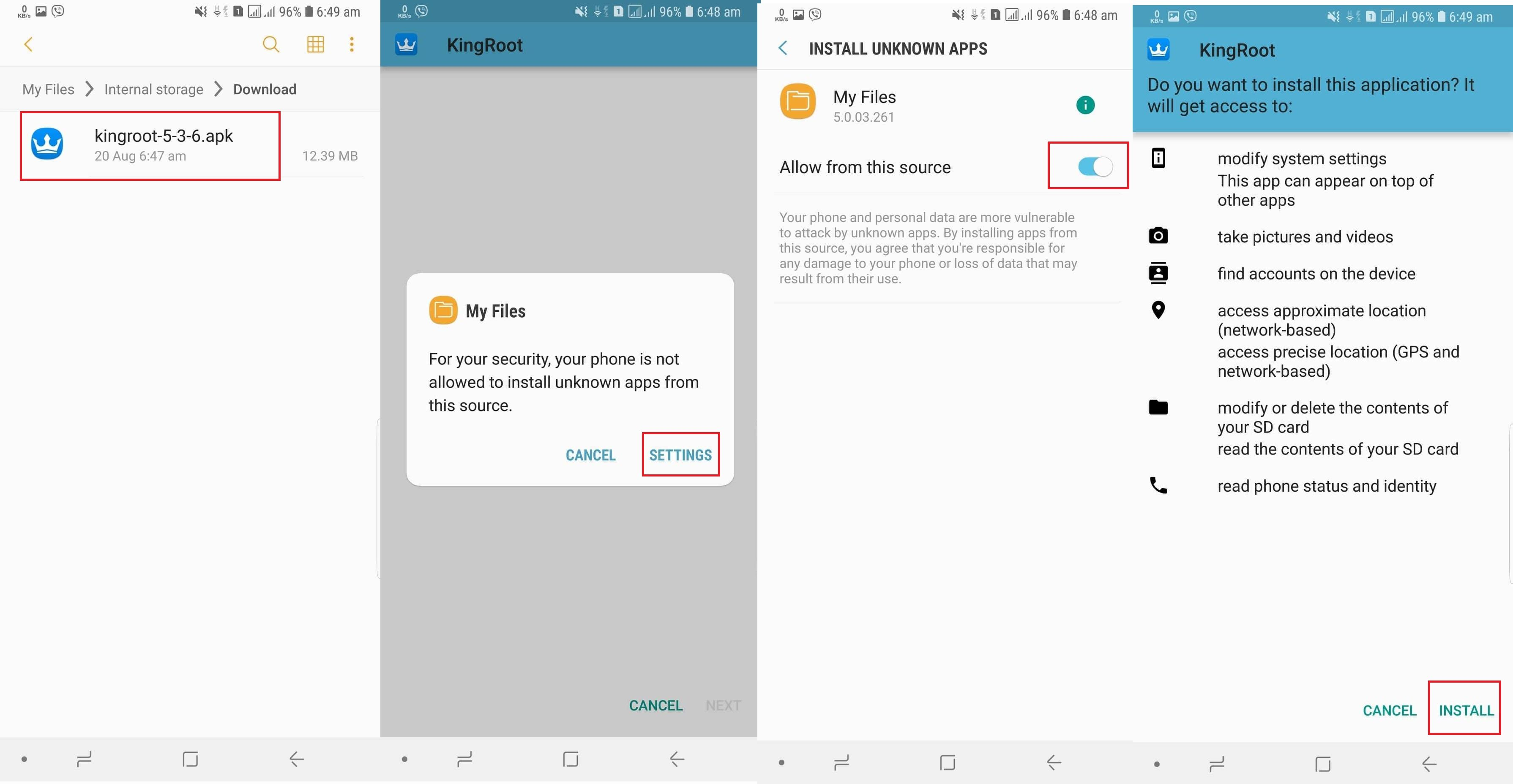 Root Samsung Galaxy Tab A 10 5 with kingroot Step By Step we provide