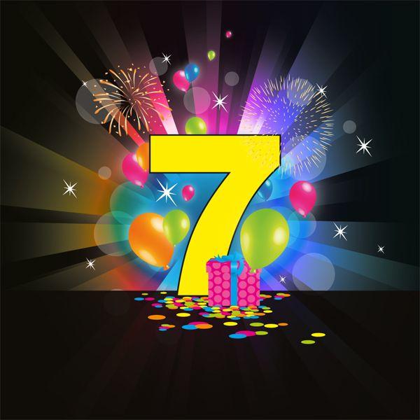 7 jaar gefeliciteerd verjaardag 7 jaar. 600×600 pixels | Vanalles | Pinterest  7 jaar gefeliciteerd