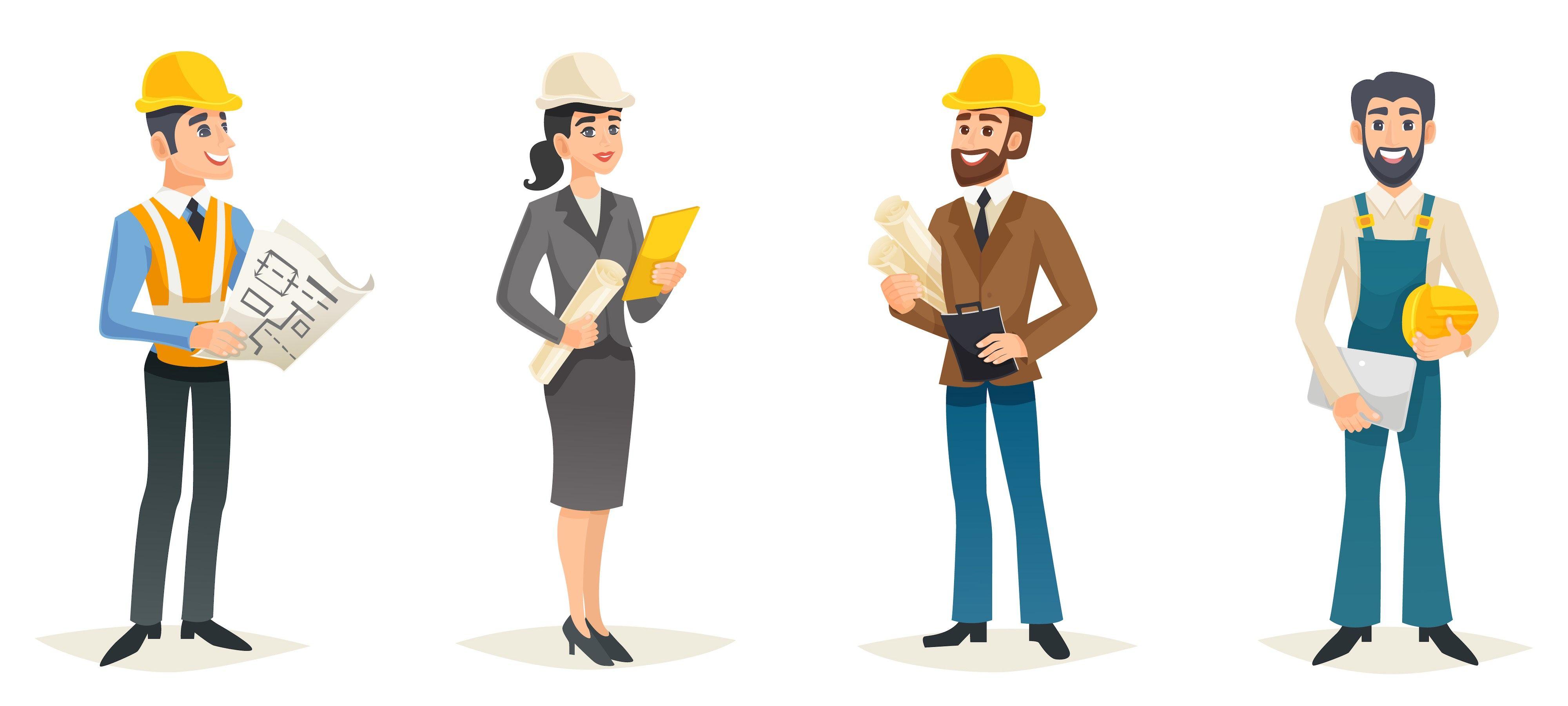 Highest Paying Jobs after B.tech Engineer cartoon