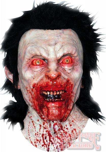 bloody anger scary halloween mask