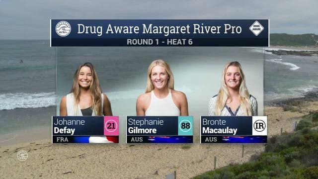 2016 Drug Aware Margaret River Pro (W): Round 1, Heat 6 Video