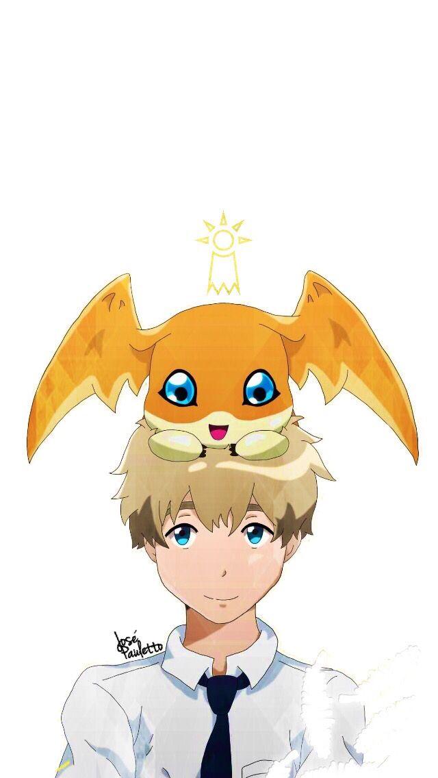 Takeru Takaishi And Patamon Lover Digimon Digimontri