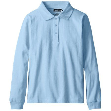 Gymboree Girls Big Long Sleeve Uniform Polo