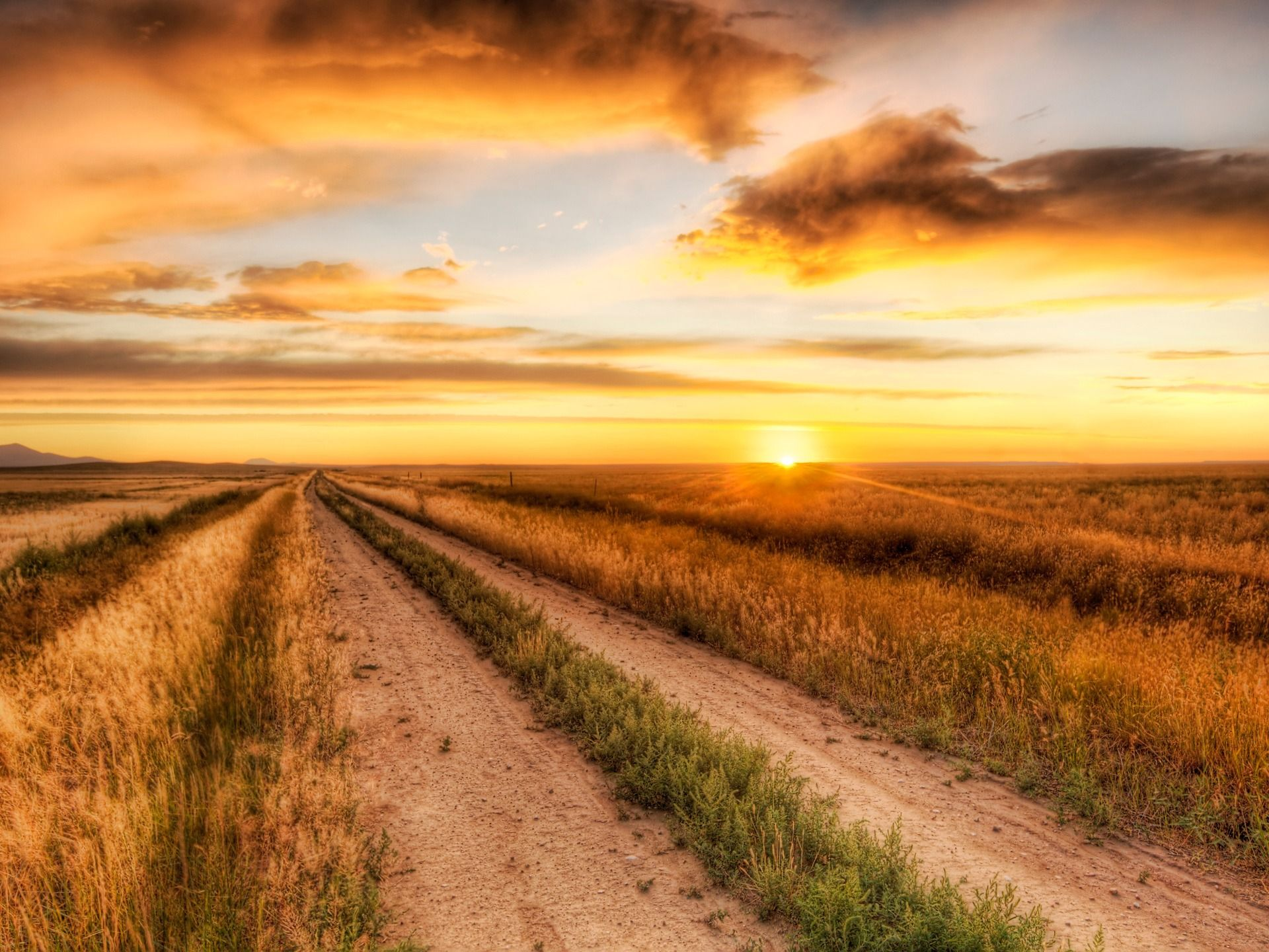 The Lonely Road Wallpaper Landscape Nature Wallpapers In Jpg