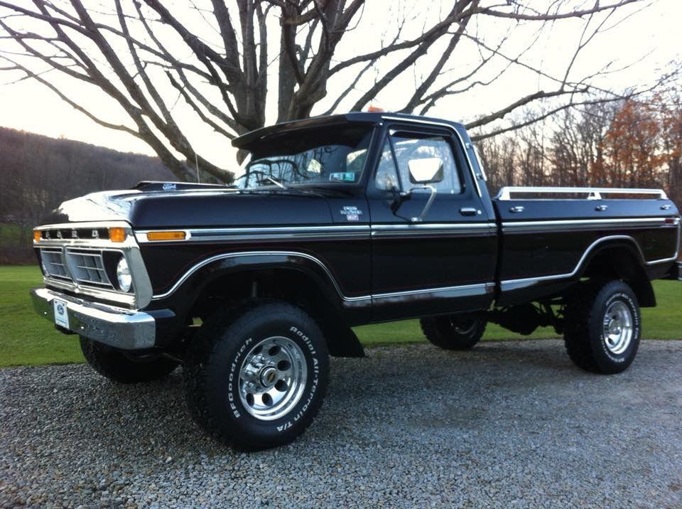 1975 ford f250 4x4 badass trucks ford trucks pickup. Black Bedroom Furniture Sets. Home Design Ideas