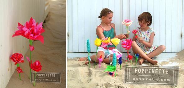 Strandboeketje in rozerood