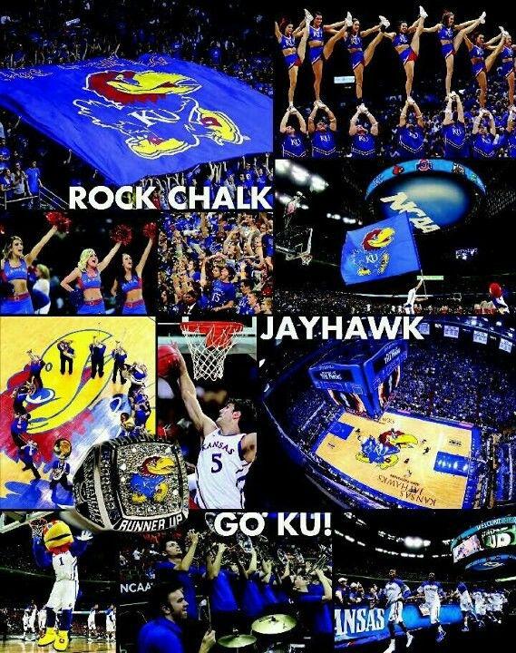 There S No Place Like Home Rock Chalk Jayhawk Rock Chalk Chalk