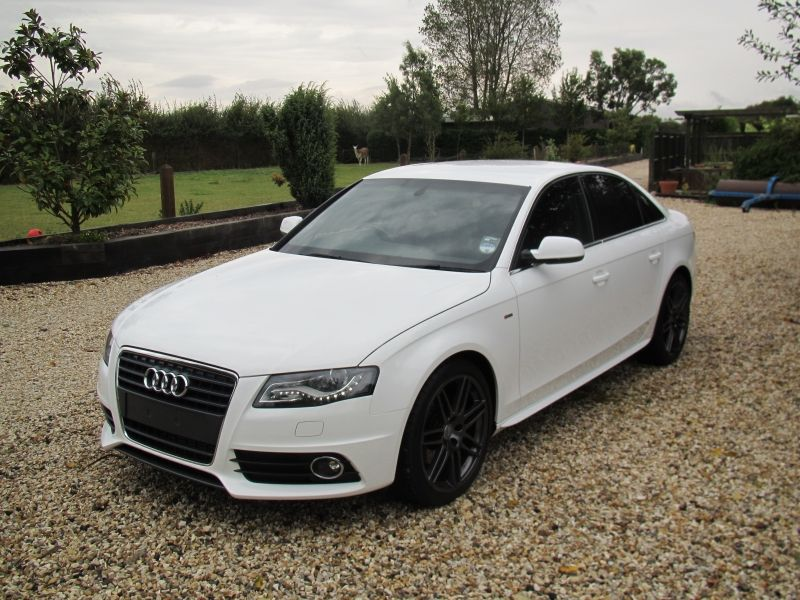 white 2010 audi a4 branded logos pinterest audi a4 vehicle and cars. Black Bedroom Furniture Sets. Home Design Ideas