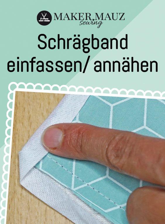 Photo of Schrägband einfassen / annähen