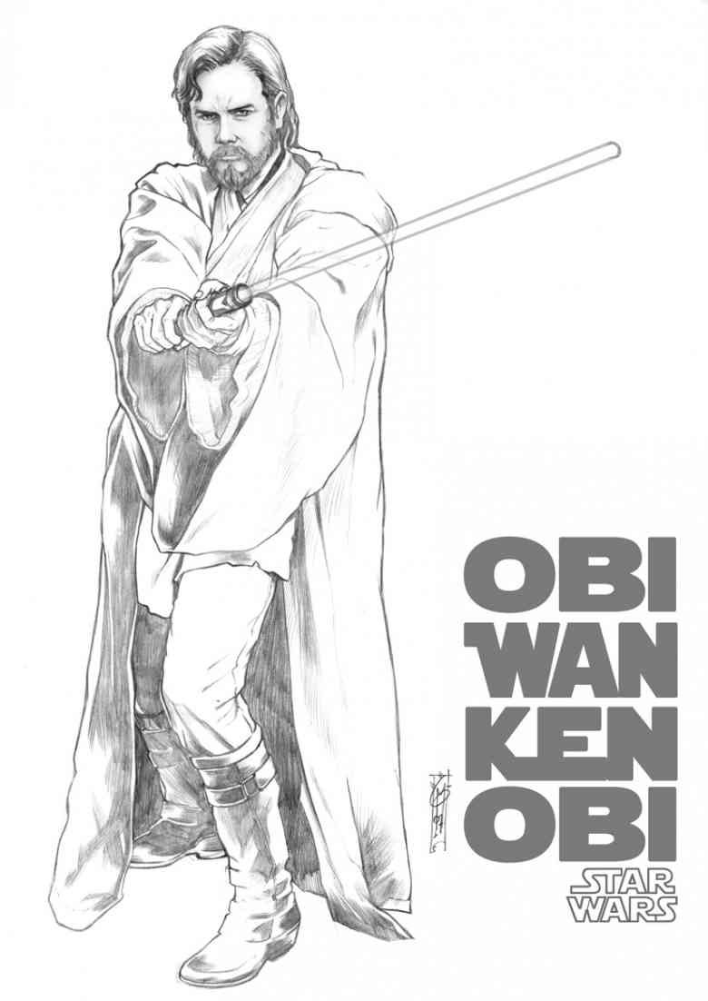 obi wan kenobi drawing - Yahoo Image Search Results | star wars ...