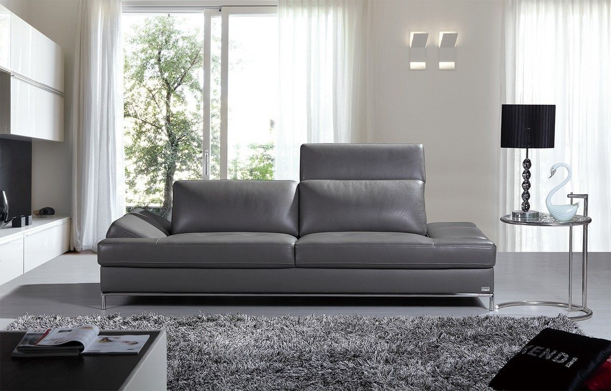 Modern Gray Leather Sofa Modern Grey Leather Sofa Best Leather Sofa Modern Grey Sofa