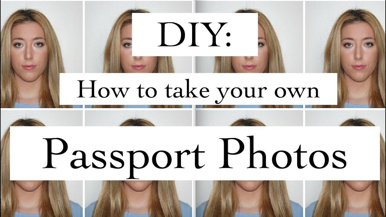 Diy passport photos how to take and edit your own