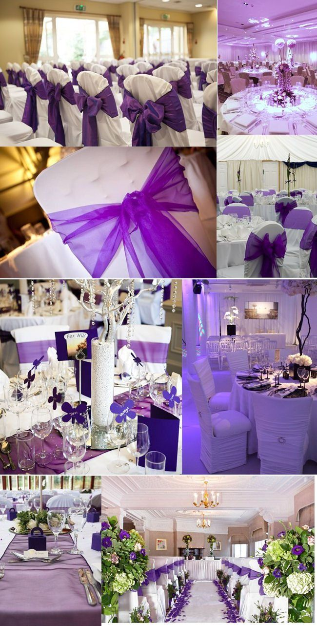 Purple Most Por When It Comes To Wedding Colour Schemes