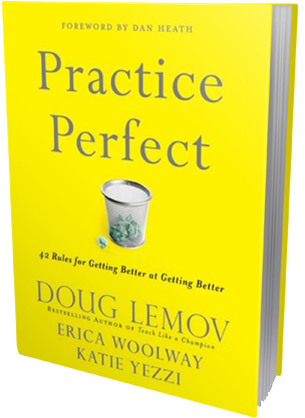 We tend to celebrate successful outcomes rather than everything that leads up to that success. This book talks about what makes practice so useful and important. Although the authors are educators, the information is valuable to any one who wants to improve their performance in any field.